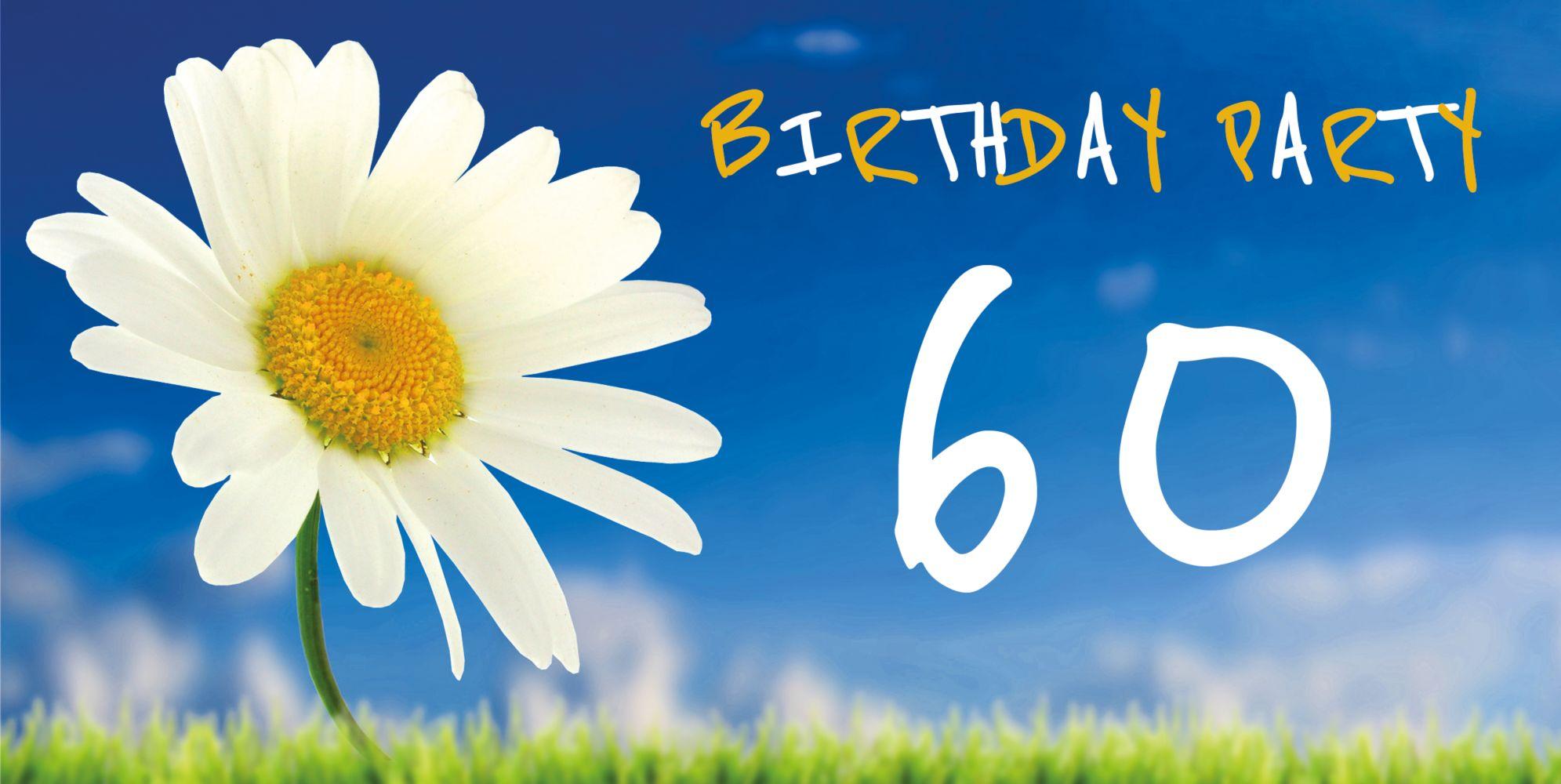 Ansicht 3 - Geburtstagseinladung Lebensfreude 60