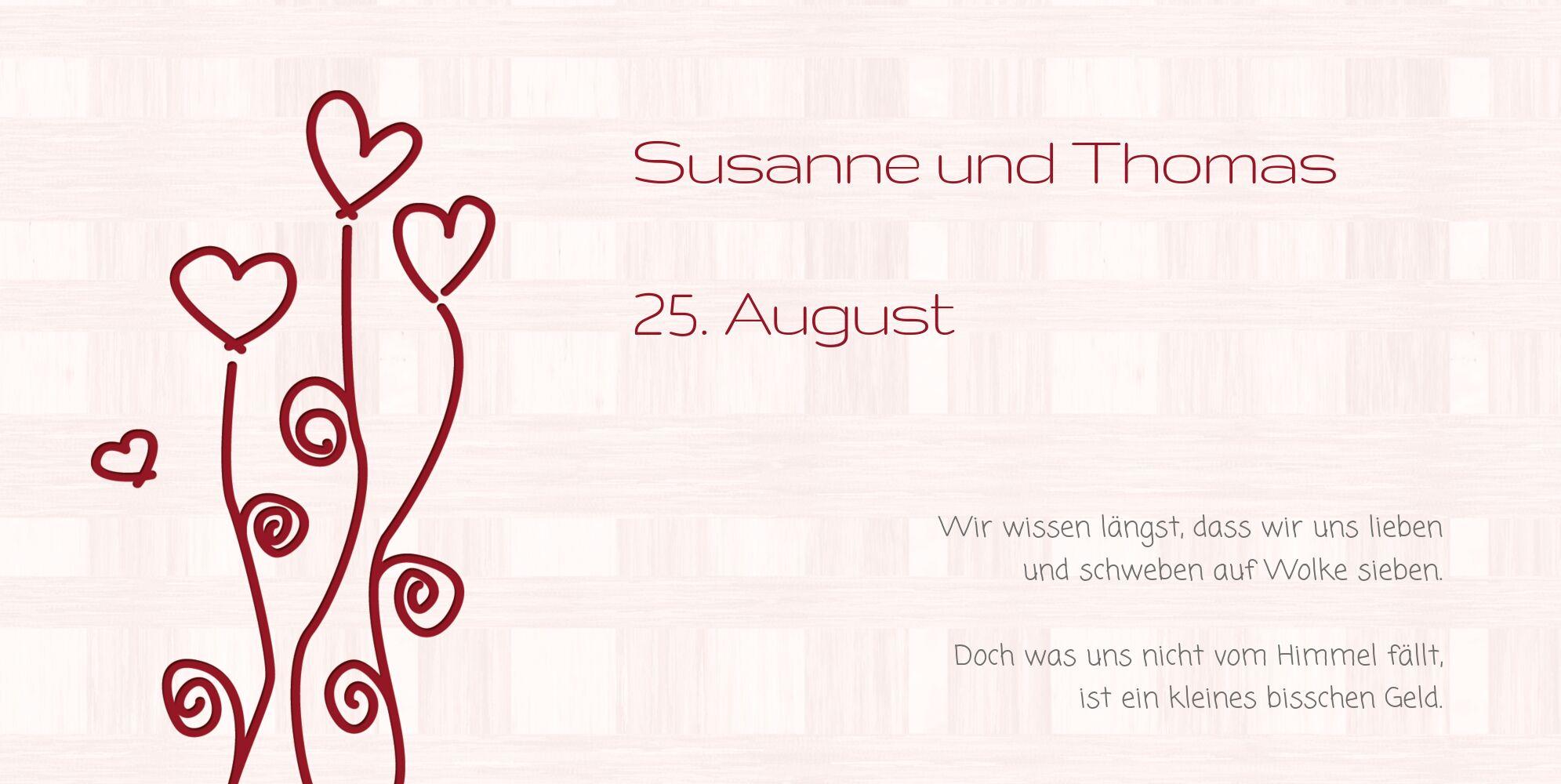 Ansicht 4 - Hochzeit Einladung Liebestraum
