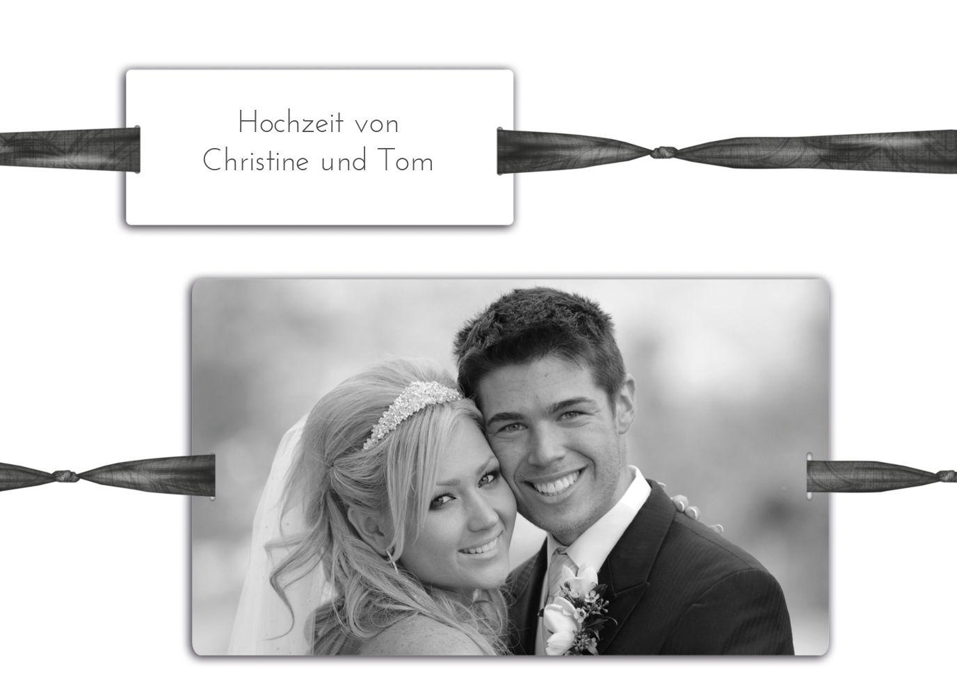 Ansicht 4 - Hochzeit Dankeskarte loop label
