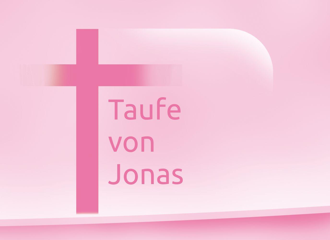 Ansicht 4 - Taufkarte Kreuz
