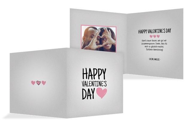 Valentinskarte Valentinsgruß