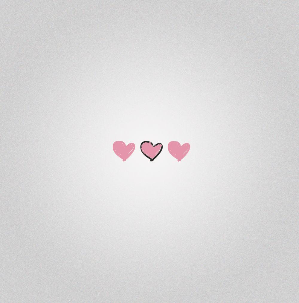 Ansicht 2 - Valentinskarte Valentinsgruß