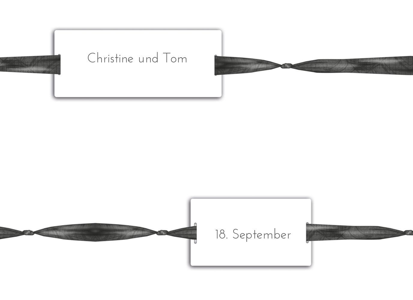 Ansicht 4 - Hochzeit Einladung loop label