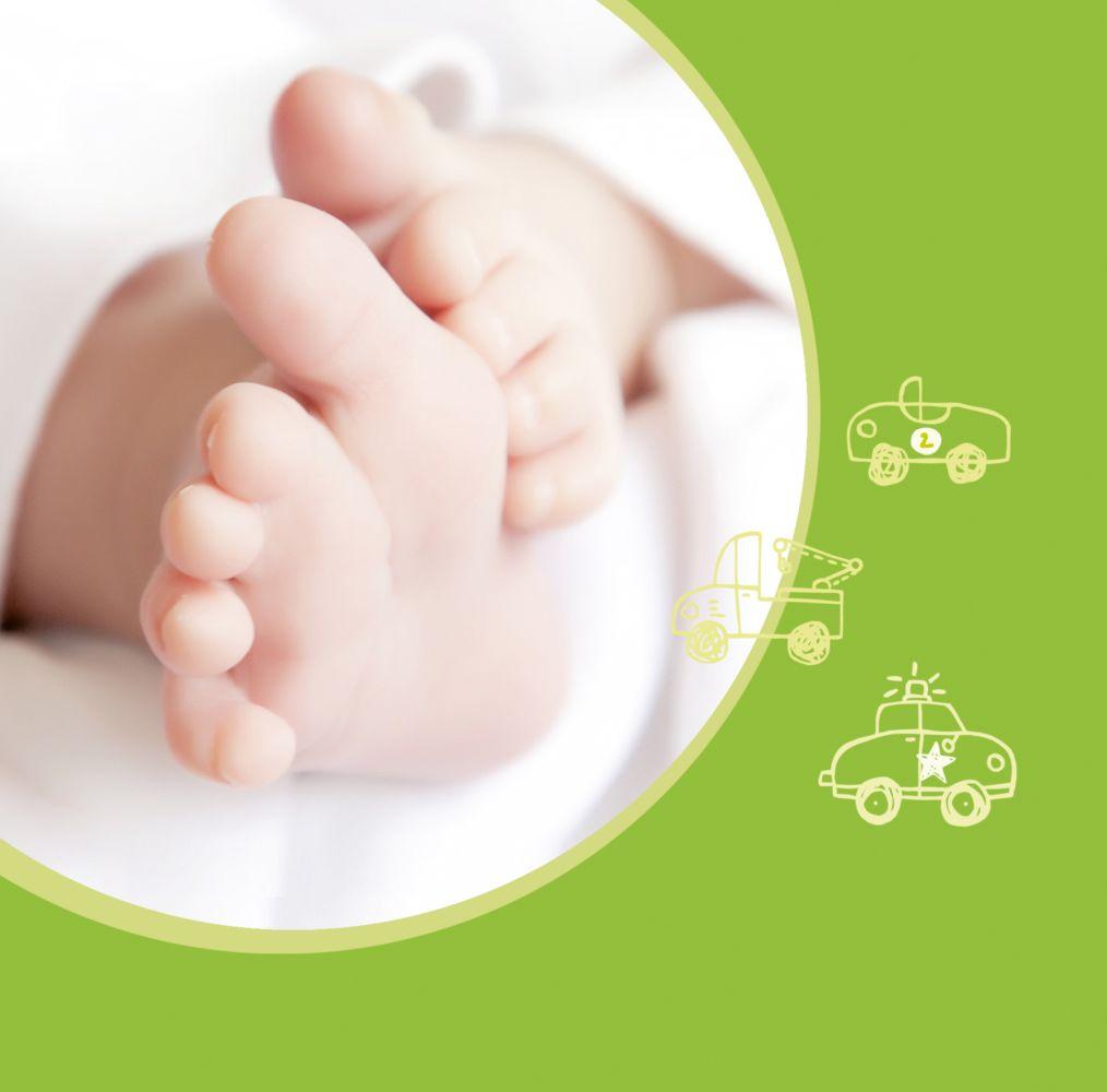 Ansicht 4 - Baby Dankeskarte Mobil