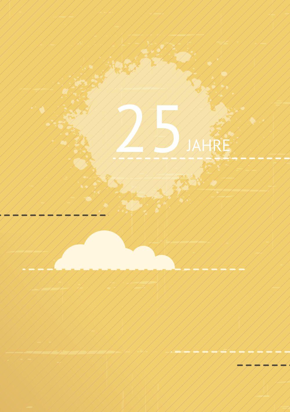Ansicht 4 - Jubiläumskarte Wolken