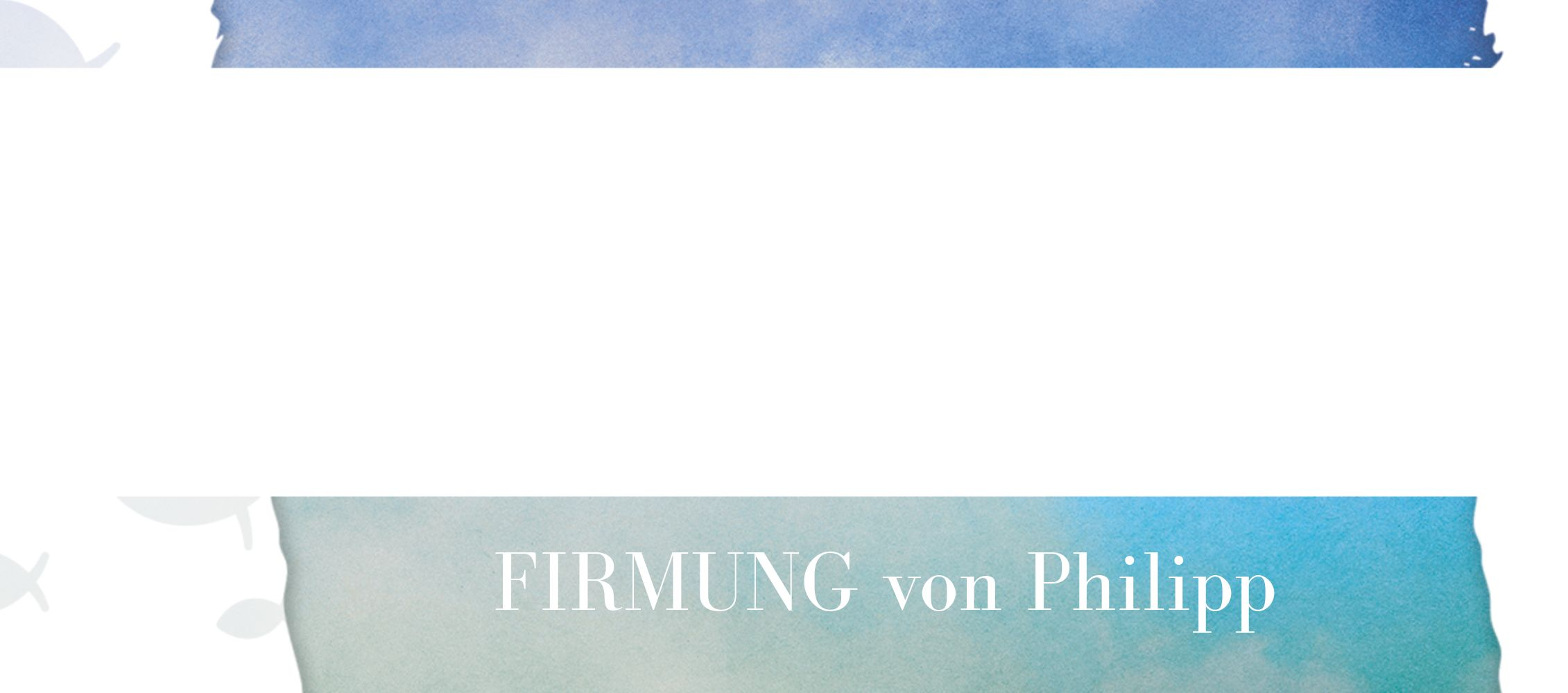 Ansicht 3 - Firmung Tischkarte Himmelreich