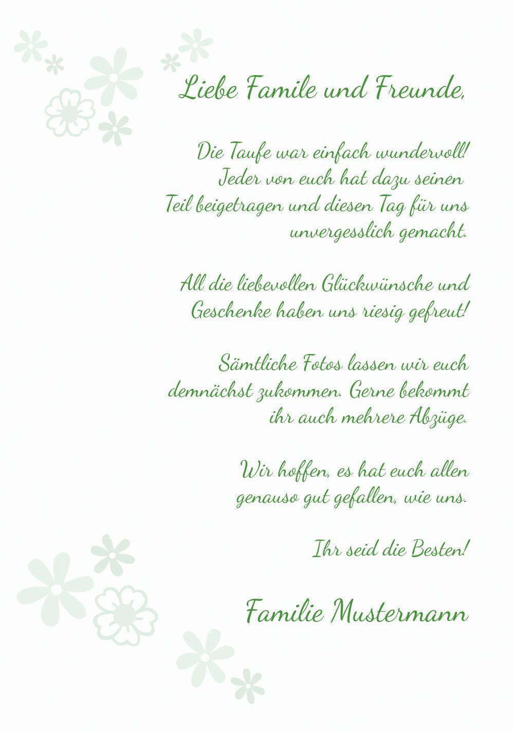 Ansicht 5 - Dankeskarte Florales Kreuz