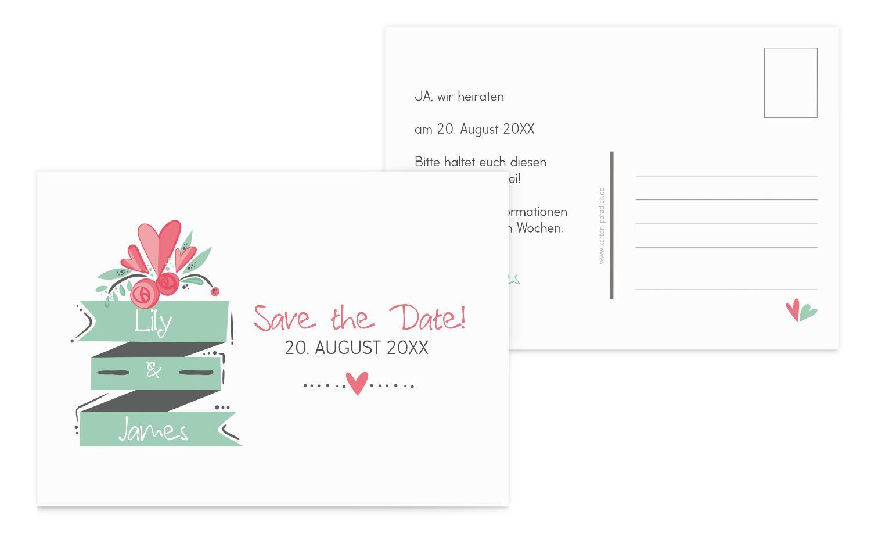 Save-the-Date Du & Ich