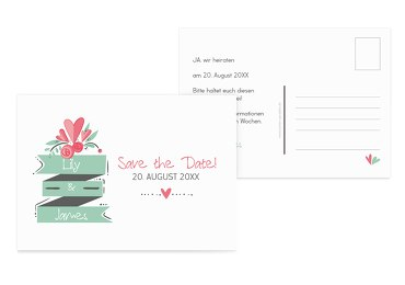 Save-the-Date Du & Ich