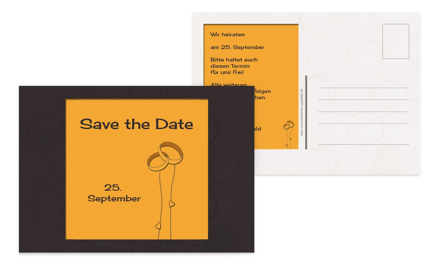 Save-the-Date Eleganz