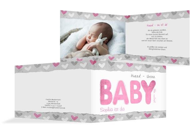 Babykarte Cute Baby