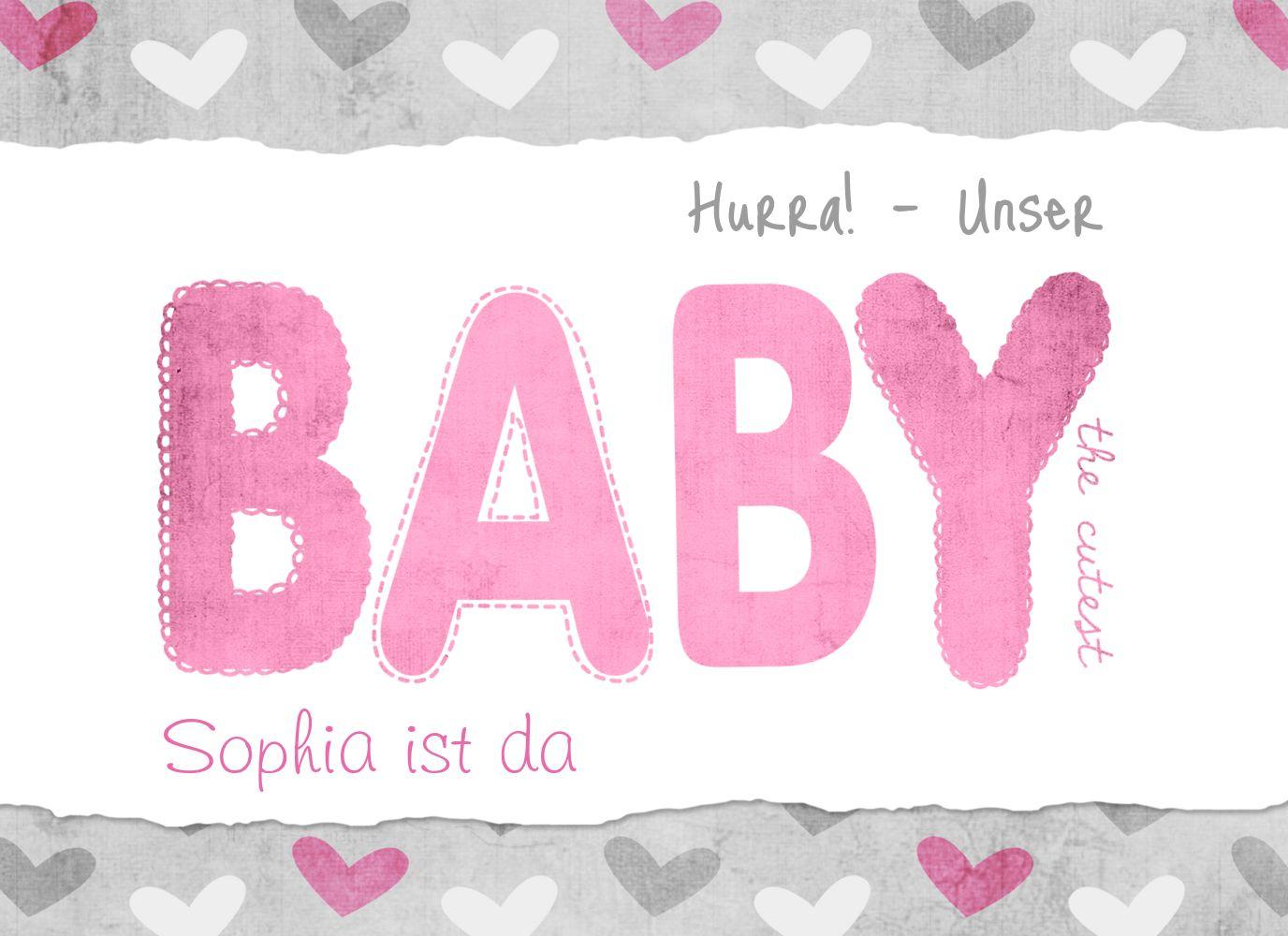 Ansicht 3 - Babykarte Cute Baby
