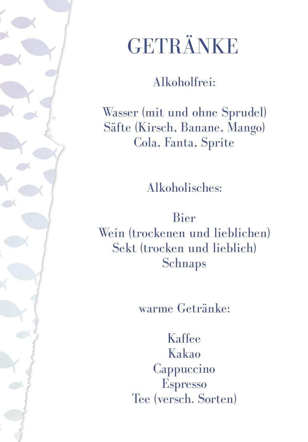 Ansicht 4 - Kommunion Menükarte Himmelreich
