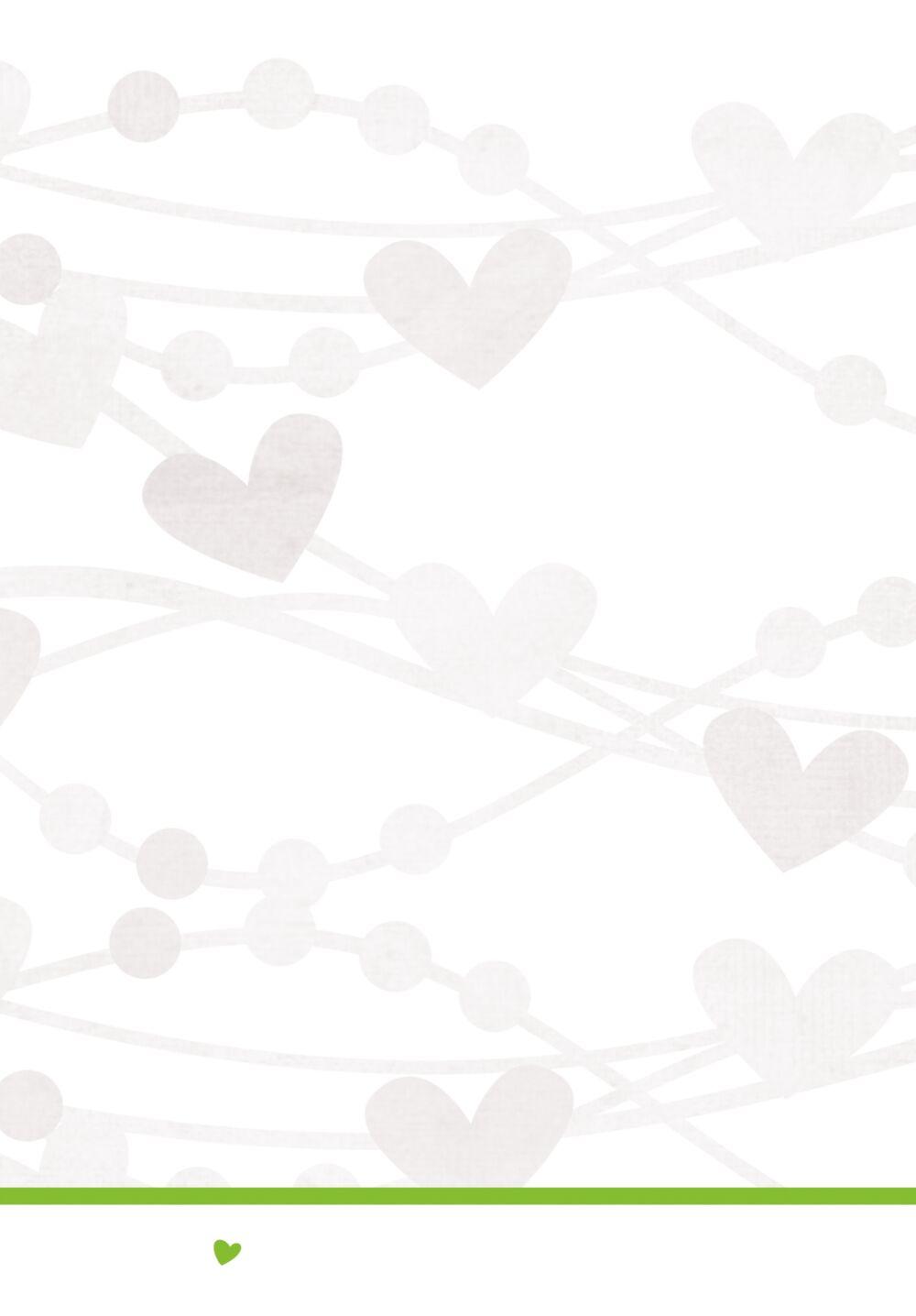 Ansicht 4 - Hochzeit Kirchenheft Umschlag wilde Herzen