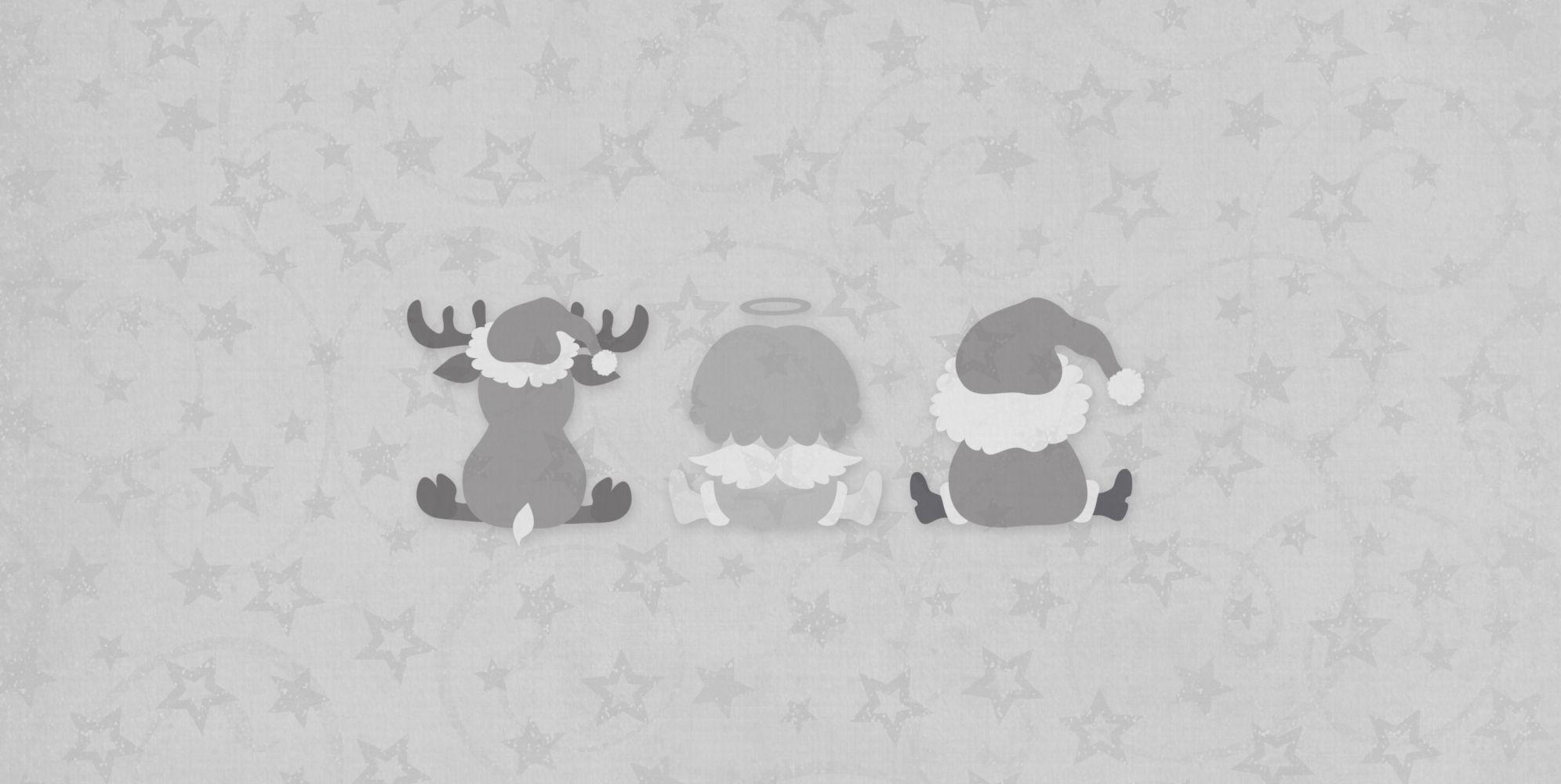 Ansicht 4 - Grußkarte Trio