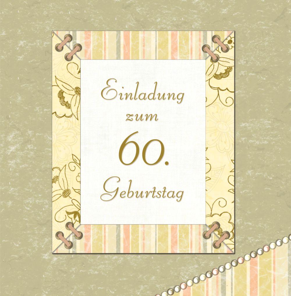 Ansicht 3 - Geburtstagseinladung Nostalgie 60 Foto