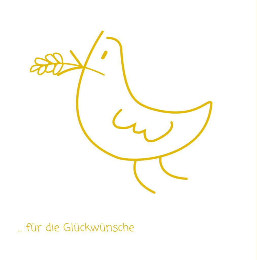 Ansicht 2 - Firmung Dankeskarte Gräser