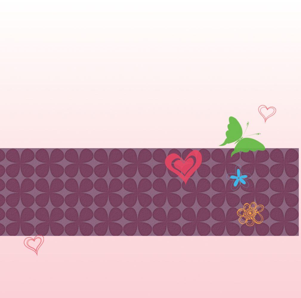 Ansicht 2 - Babykarte colorful garden