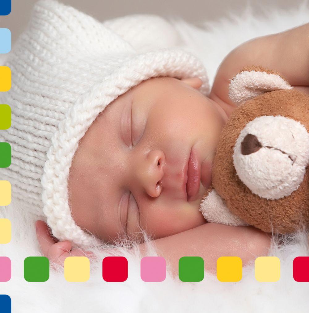 Ansicht 5 - Babykarte Viereck