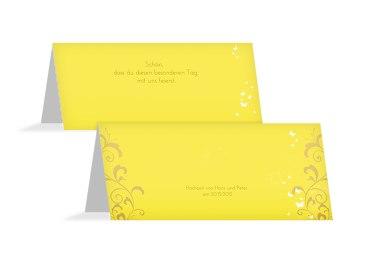 Hochzeit Tischkarte 3 Glücksgriff