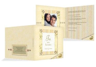 Hochzeit Einladung Bund für's Leben
