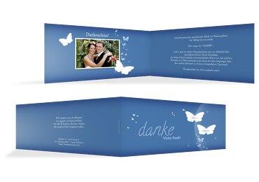 Hochzeit Dankeskarte Traumpaar
