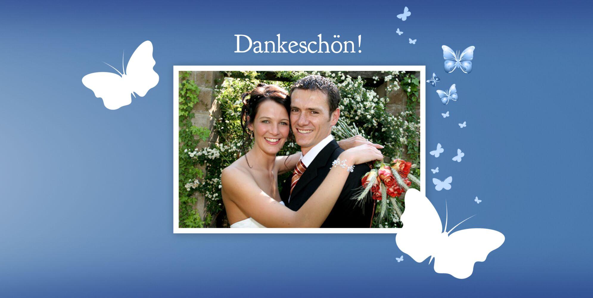 Ansicht 4 - Hochzeit Dankeskarte Traumpaar