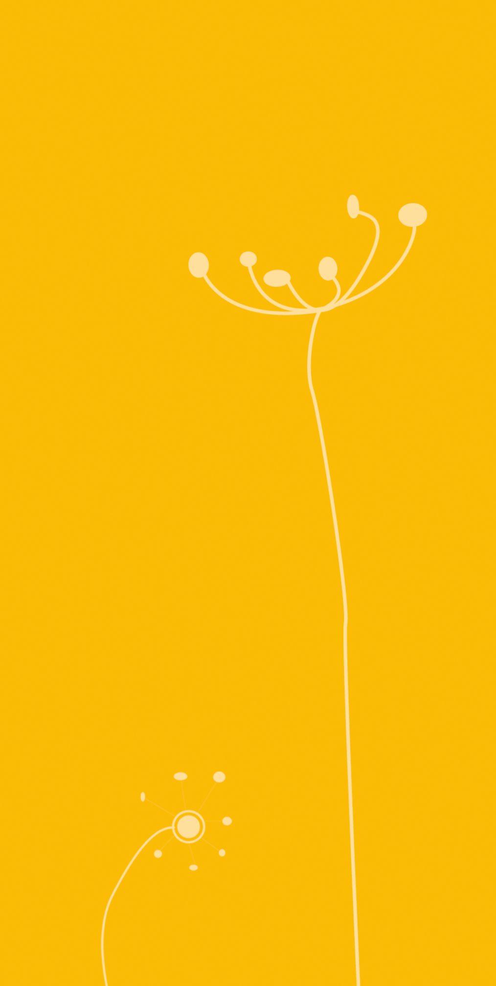 Ansicht 2 - Babykarte abstrakte Blumen