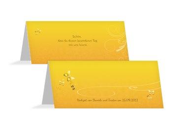 Hochzeit Tischkarte butterfly