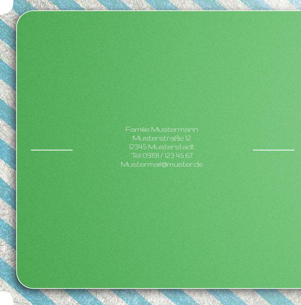 Ansicht 2 - Kontur Einladung Royal Color