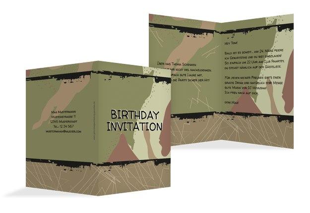 Einladung Army Lifestyle
