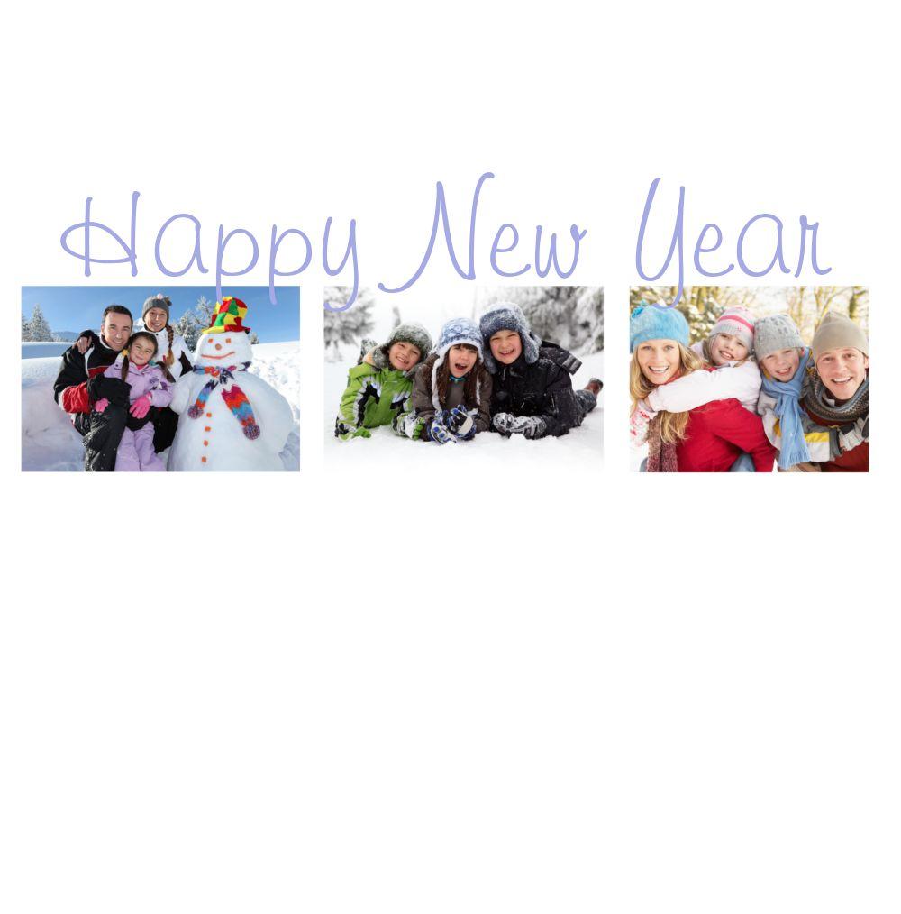 Ansicht 3 - Neujahrskarte Fotostrecke