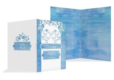 Kirchenheft Umschlag Vogelpaar - Frauen