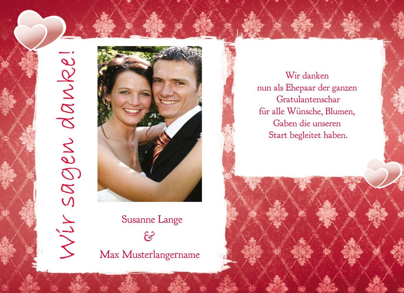 Ansicht 4 - Hochzeit Danke 3 Liebesbündnis