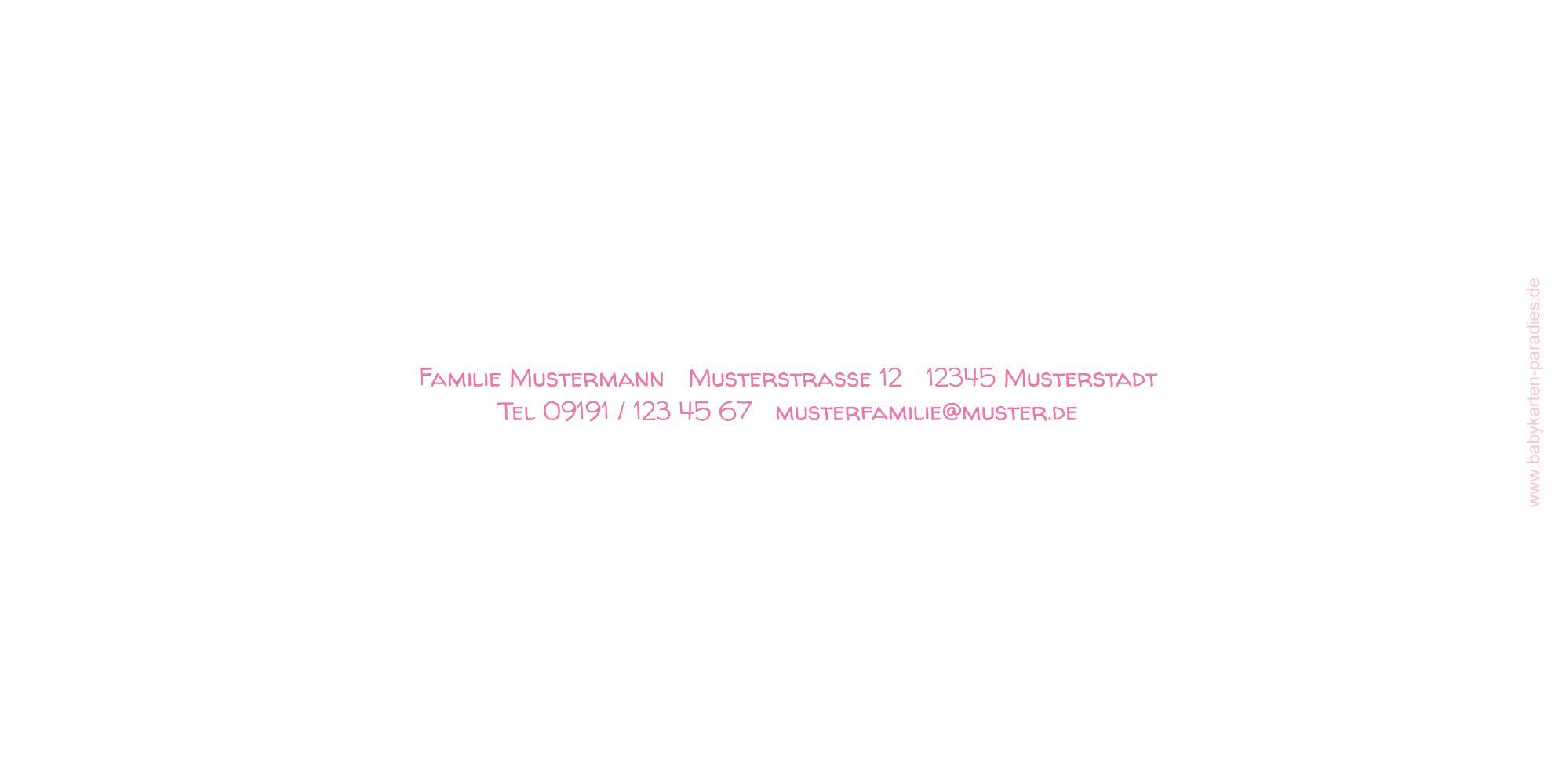 Ansicht 2 - Kommunion Dankeskarte Script