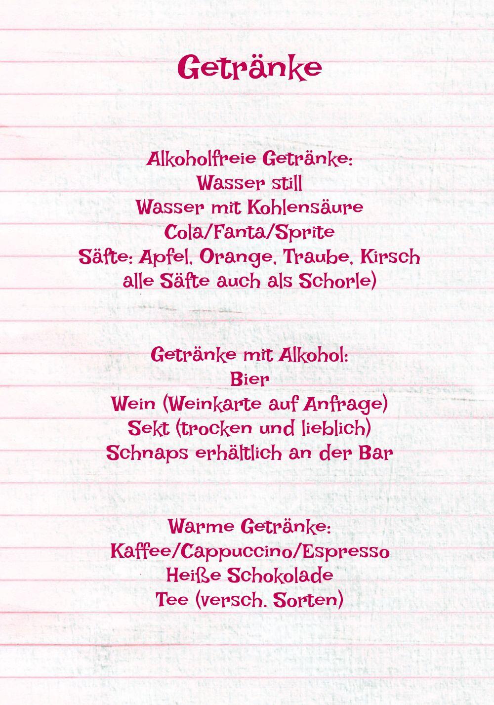 Ansicht 4 - Menükarte Elchenwald