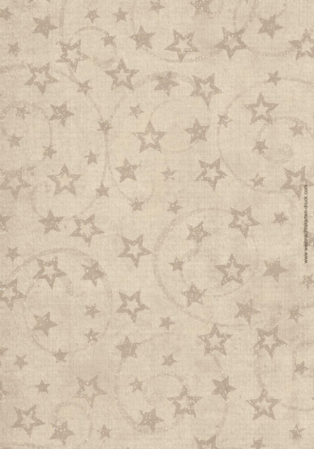 Ansicht 2 - Menükarte Sternenschnur