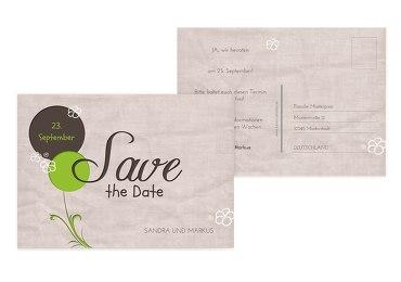 Hochzeit Save the Date Fantasyflower