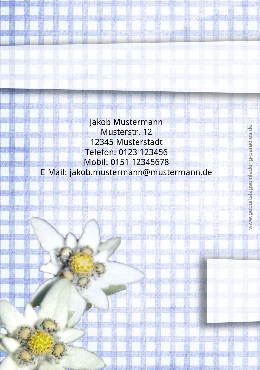 Ansicht 2 - Geburtstagskarte Jagdtrophäe
