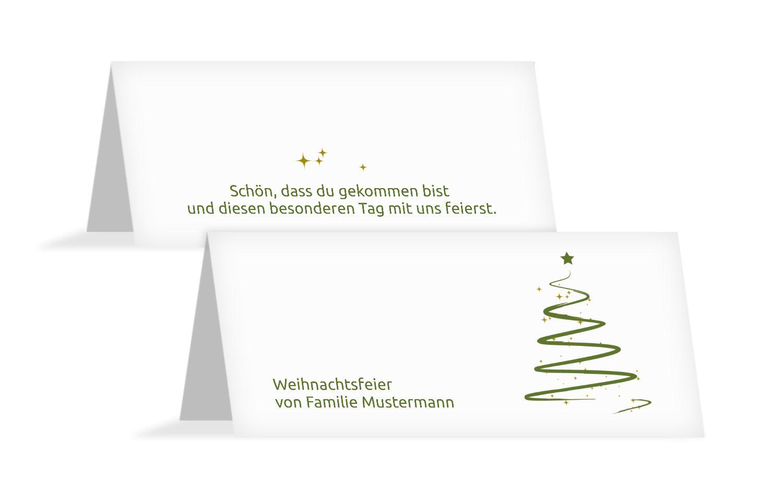 Tischkarte Wunderbaum