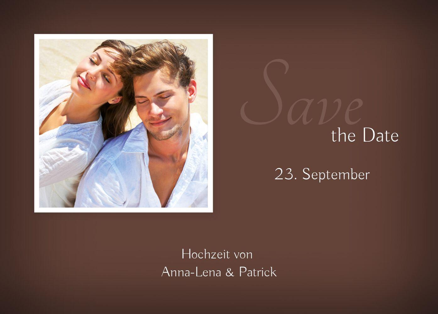 Ansicht 2 - Hochzeit Save-the-Date ewige Verbindung