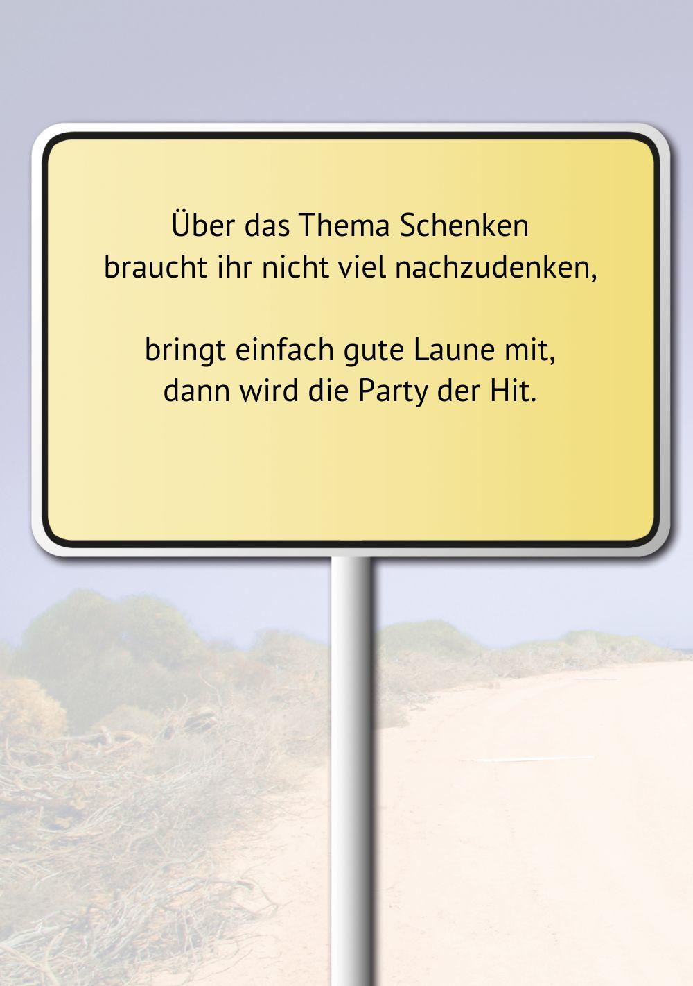 Ansicht 4 - Karte zum Geburtstag Straßenschild 90