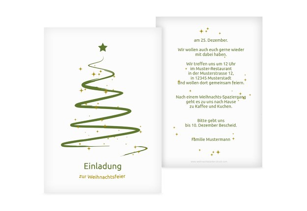 Einladung Wunderbaum