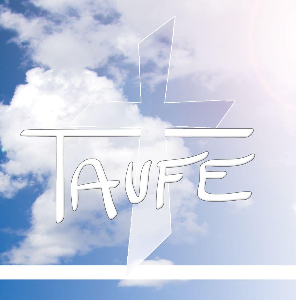 Ansicht 3 - Taufkarte Himmelskreuz