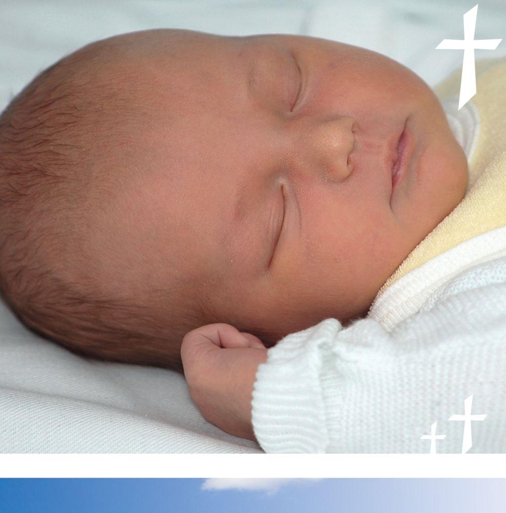 Ansicht 5 - Taufkarte Himmelskreuz
