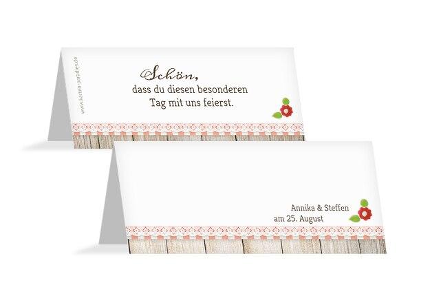 Hochzeit Tischkarte München