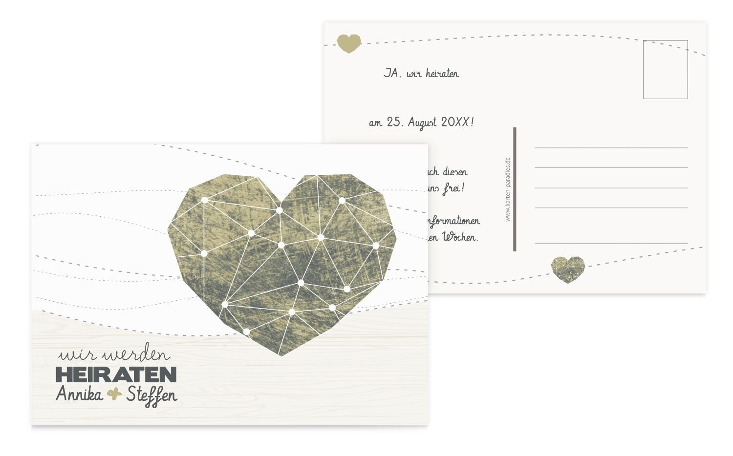 Save-the-Date Sternenbild