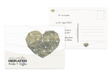 Save-the-Date Sternenbild