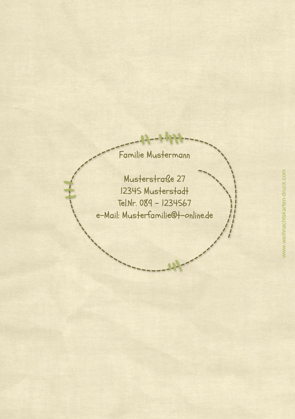 Ansicht 2 - Einladung Nahtbaum