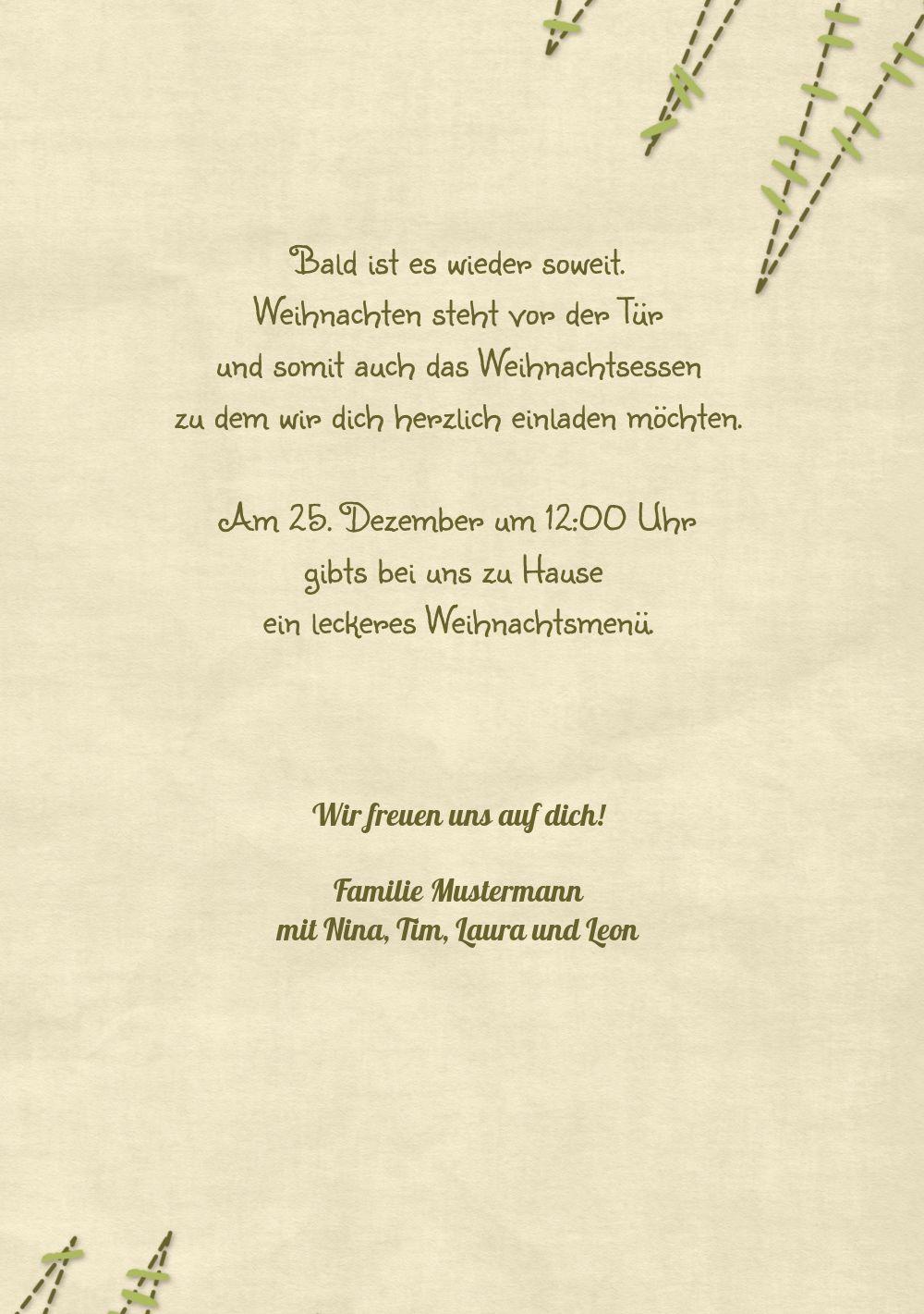 Ansicht 5 - Einladung Nahtbaum
